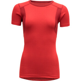 Devold Hiking T-Shirt Dames, chilli